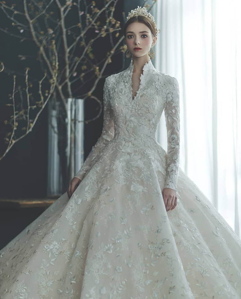 wedding dress vintage