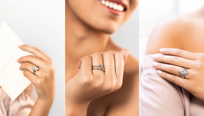 True Beauty Shines From a Good Heart – Ethical Wedding Engagement Ring Collection from MiaDonna