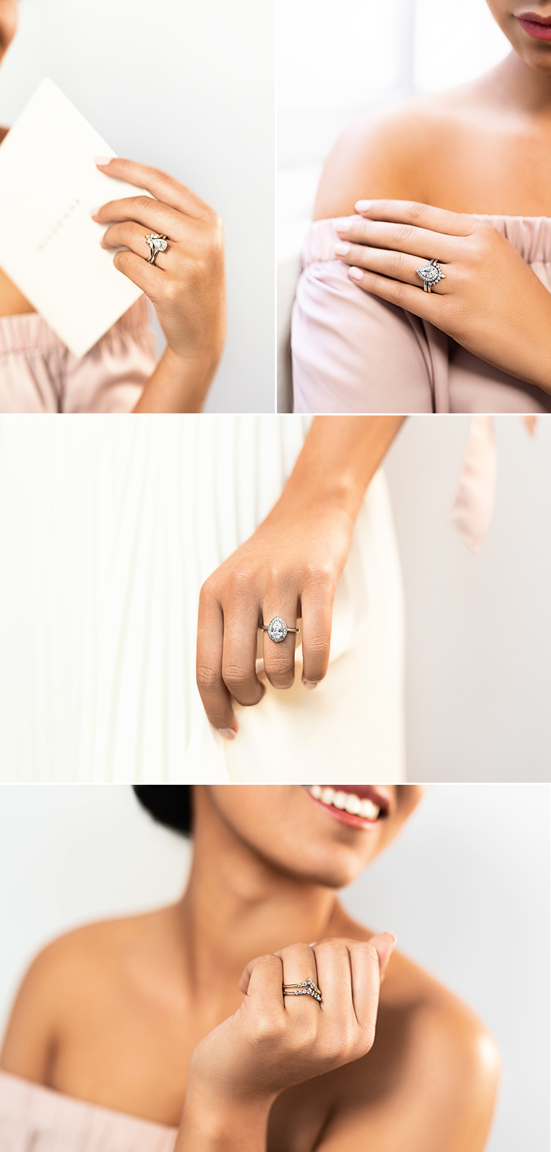 Conflict Free Lab-Grown Diamond Engagement Wedding Ring