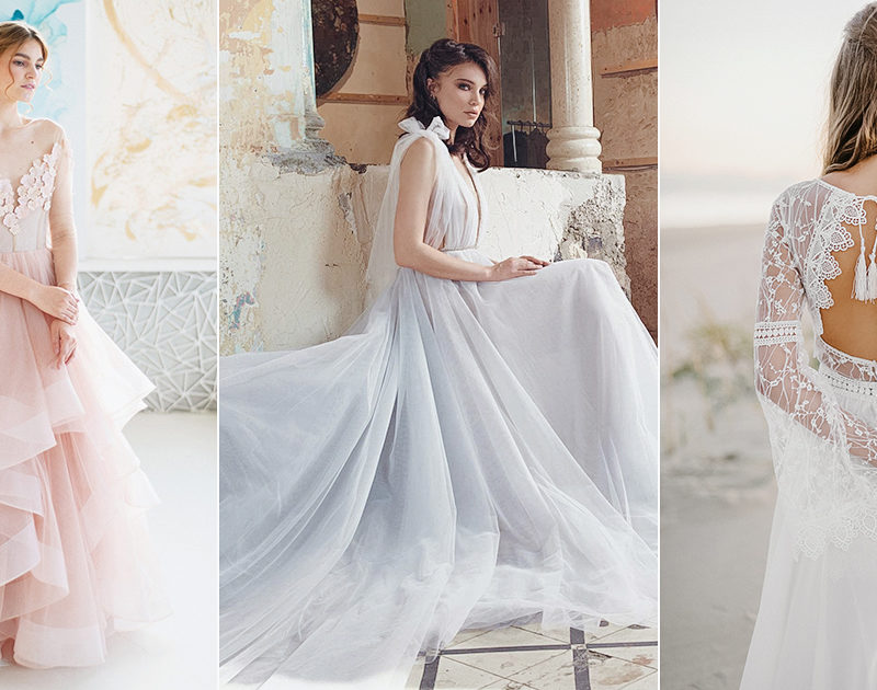 28 Beach Wedding Dresses Perfect For a Seaside Ceremony
