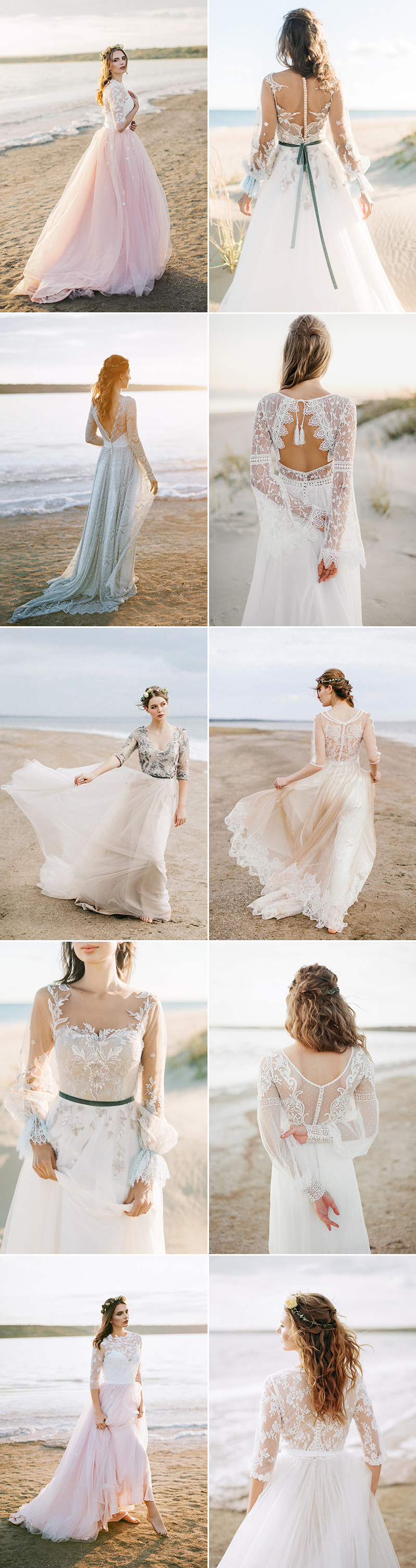 Beach Alternative Wedding Dress
