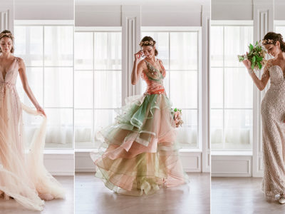 One Dress, Many Looks! Emcee Bridal ByMeichi 2019 Multi-Wear Convertible Gowns For Modern Brides