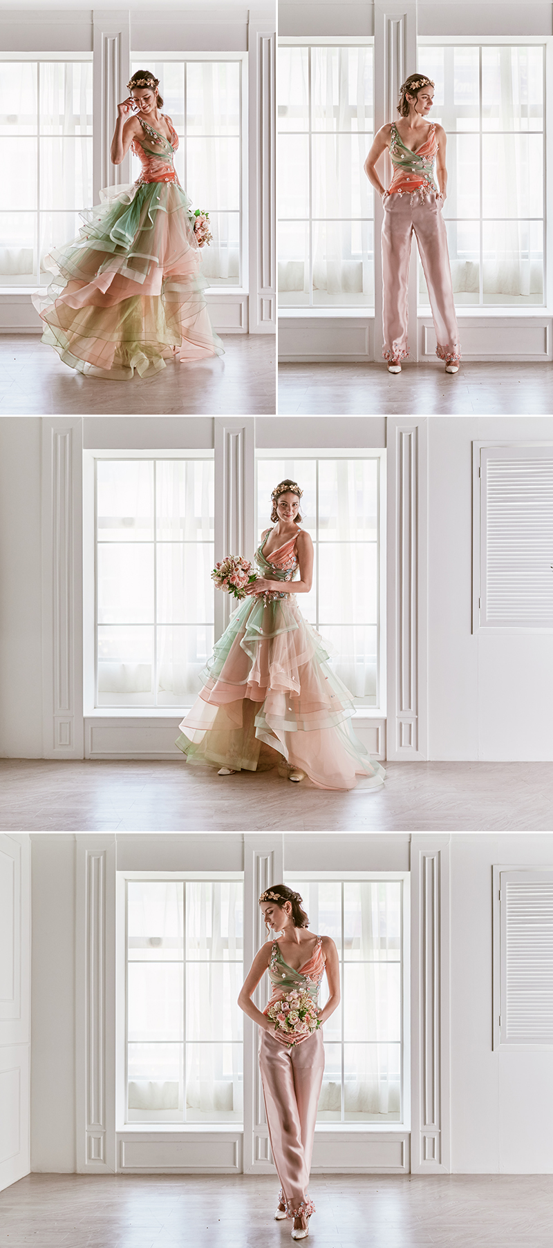 One Dress Many Looks Emcee Bridal Bymeichi 2019 Multi Wear Convertible Gowns For Modern Brides Praise Wedding