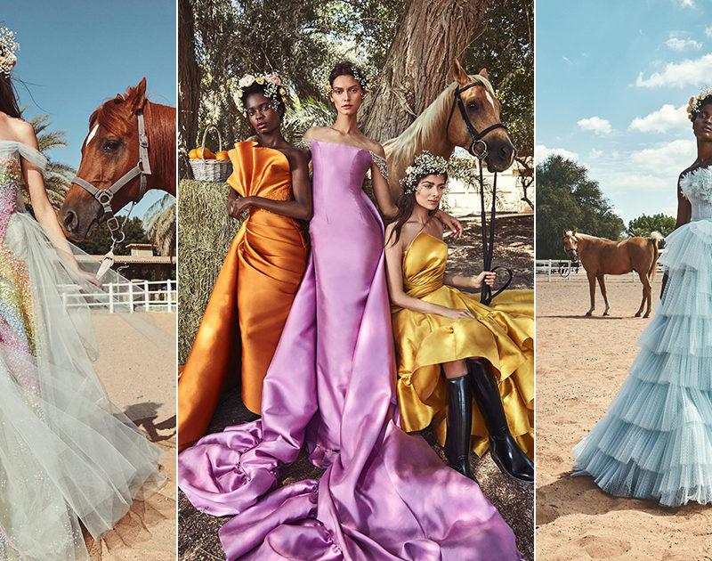 Hamda Al Fahim SS2019 Collection – Statement Gowns with Autonomous Character