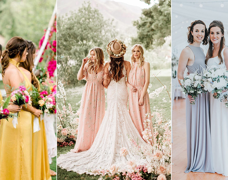 7 Bridesmaid Dress Trends For This Summer and Beyond
