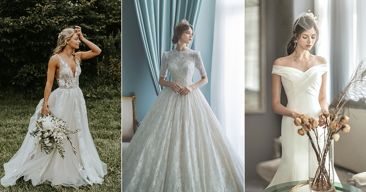 The Wedding Dress Wish List from Brides,to,be! 5 Gown Styles