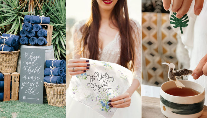 25 Creative Wedding Favors For Spring Summer Outdoor Receptions