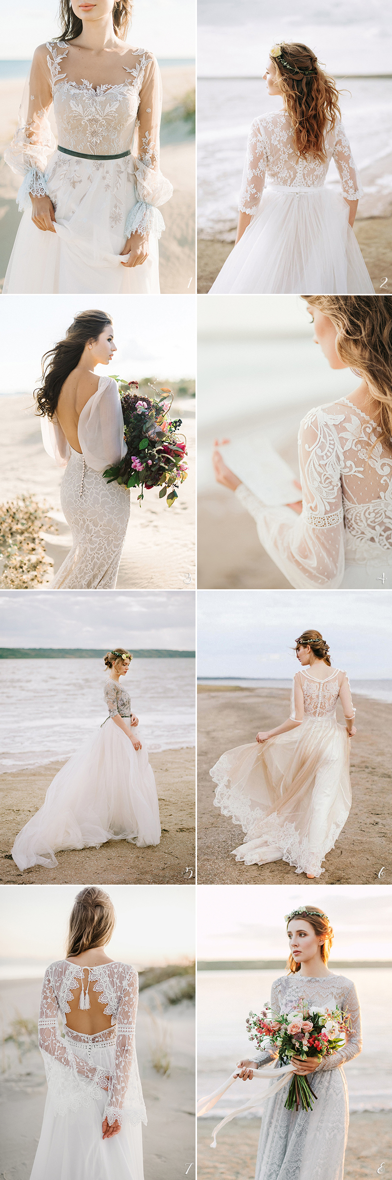 Fine art handmade wedding dress