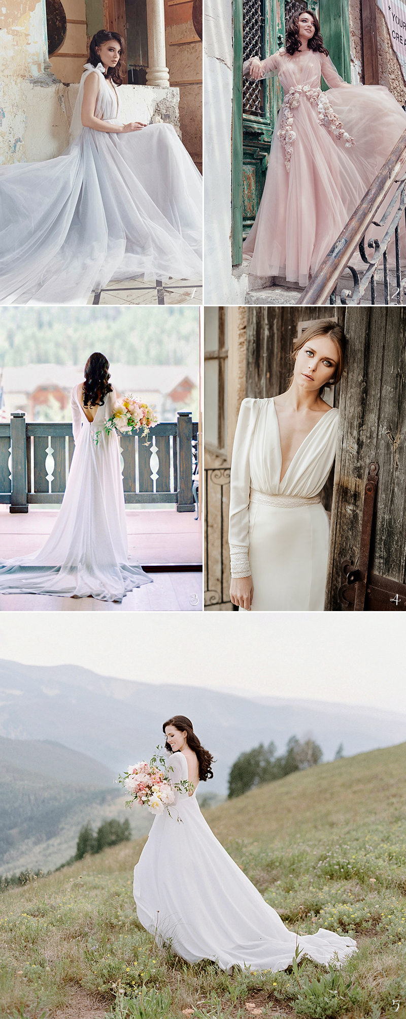 fine art wedding dress