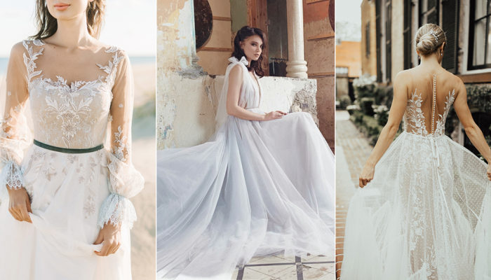 35 Effortlessly Chic Wedding Dresses For The Modern Fine Art Bride