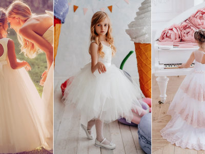 The Mini Wedding Dress! 16 Flower Girl Dresses to Match Your Bridal Look