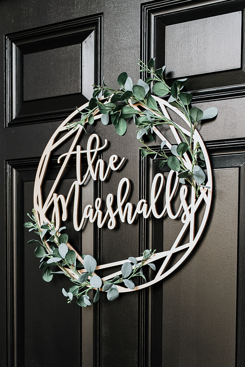 Wedding Decor Door Sign