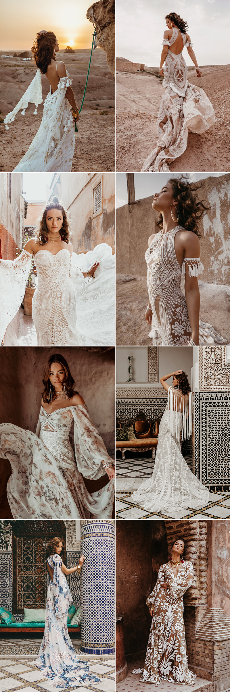 38 Contemporary Bohemian Wedding Dresses For Boho Chic Brides