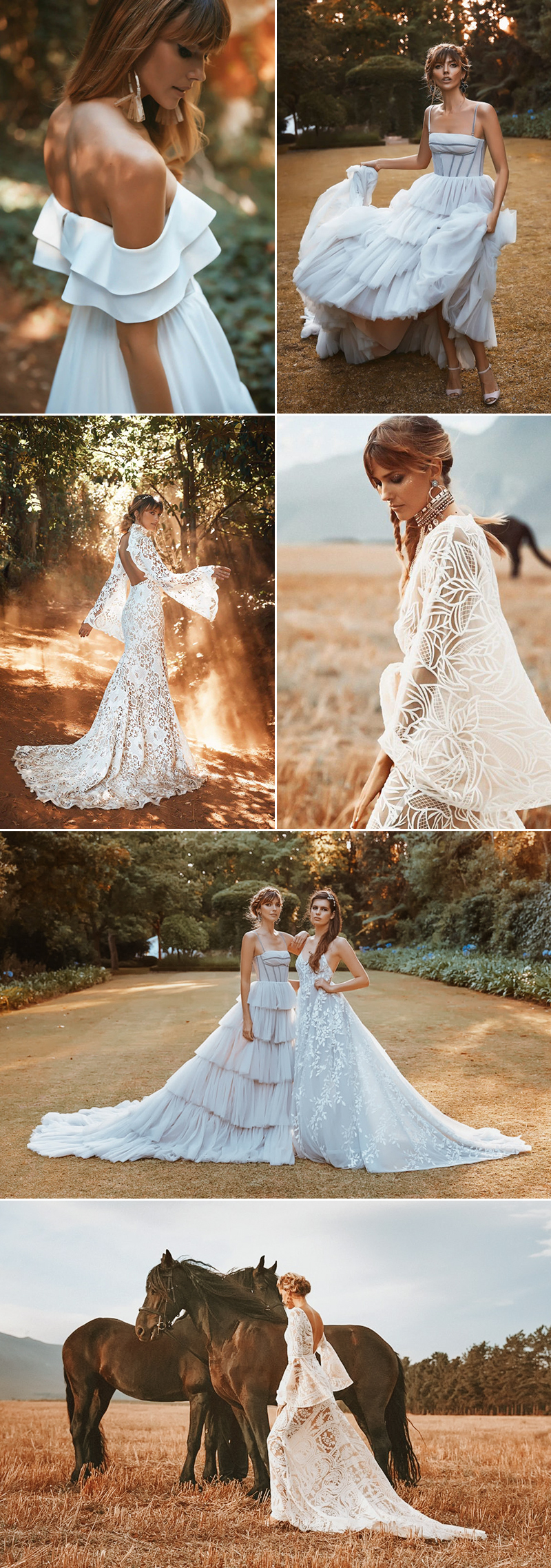 Boho wedding dress
