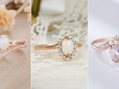 White Romance! 13 Diamond-Alternative White Engagement Ring You'll Fall In Love With