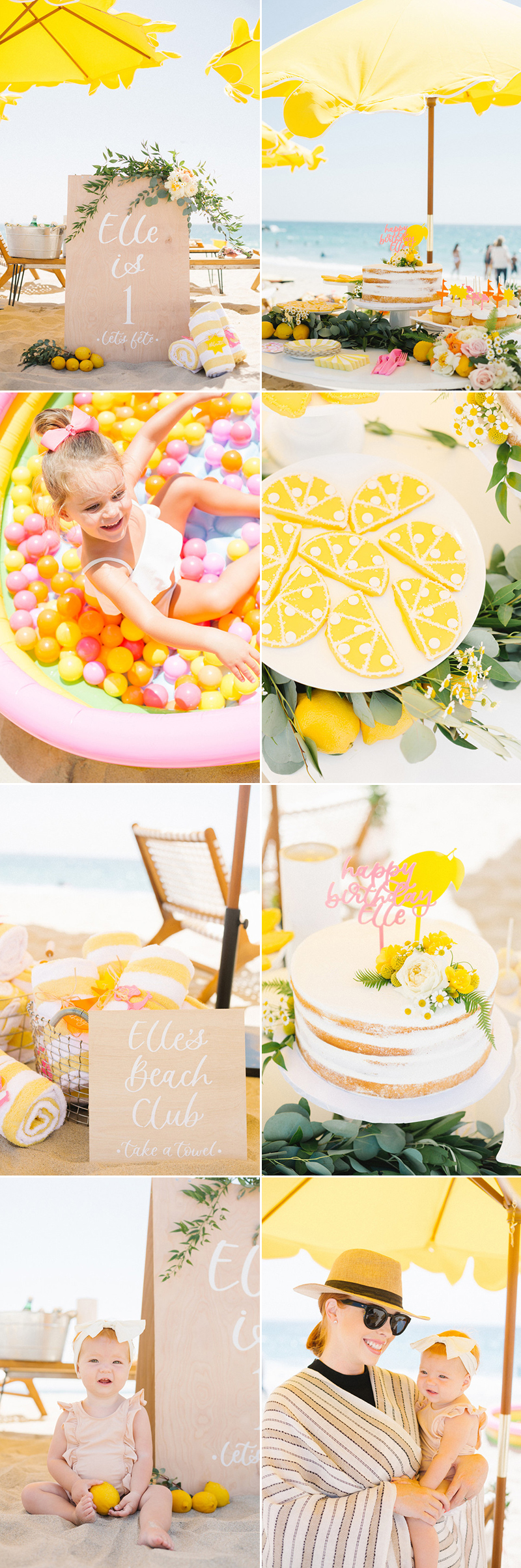 Baby first birthday theme idea