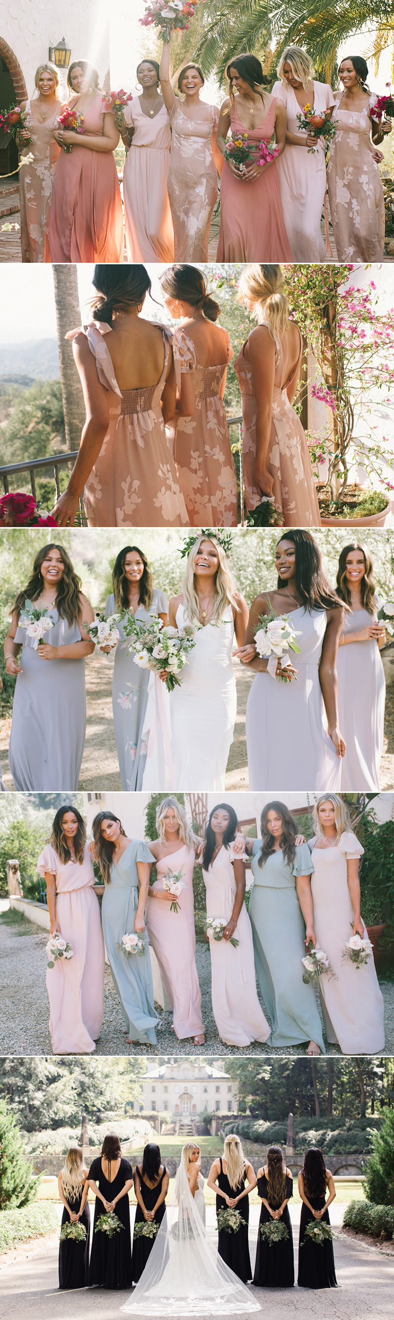 Indie Bridesmaid Dresses that Don't Look Like Bridesmaid Dresses