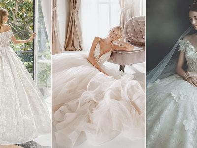 Modern Elegance! 40 Fresh Wedding Dresses for the Classic Bride