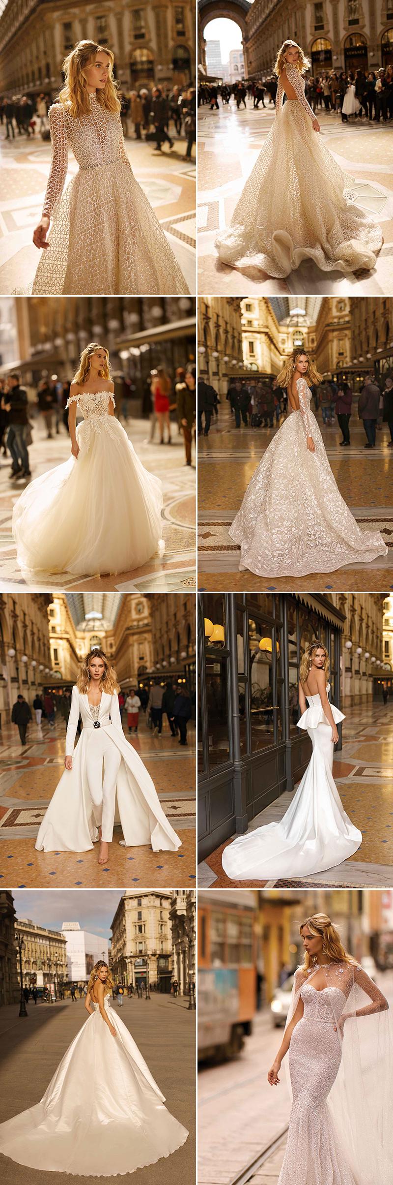 Modern classic wedding dress