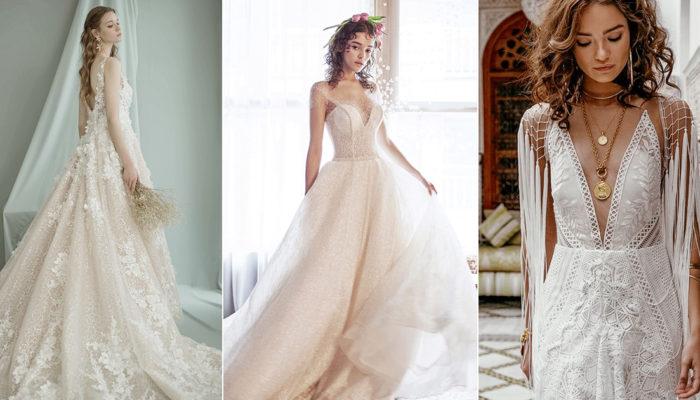 18 Enchanted Elegant Wedding Dresses for the Modern Bride
