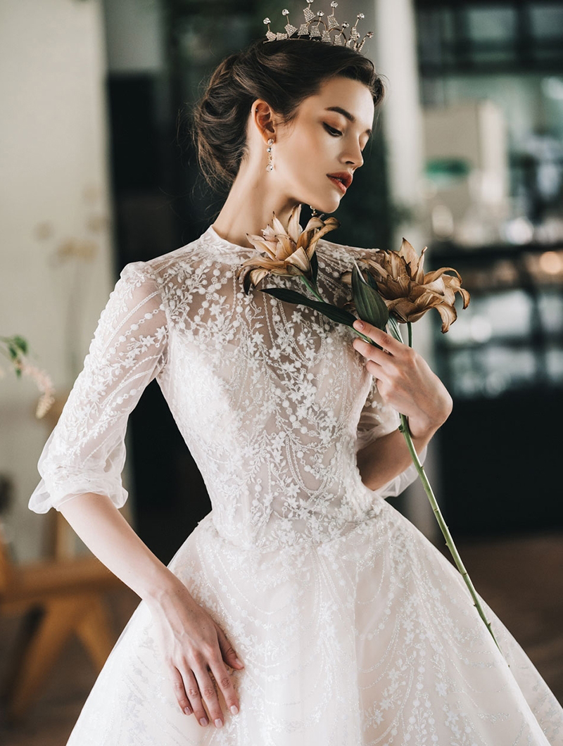Fairy tale fashion wedding dress