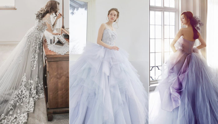Wedding Dress Color Trend Alert – Modern Romantic Dusty Cool Tones