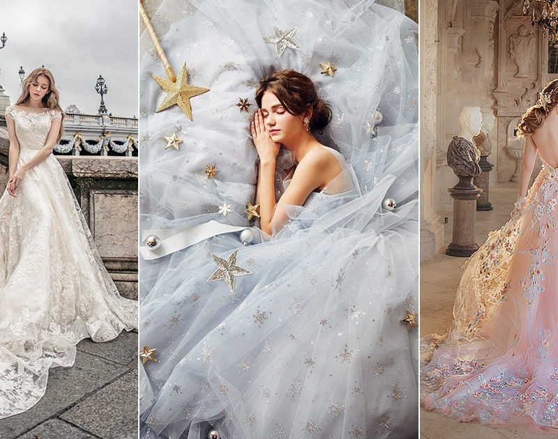 15 Fairy Tale Worthy Wedding Dresses for the Fashion-Loving Bride