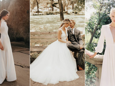 28 Budget-Friendly Simple Wedding Dresses For the Minimalist Bride