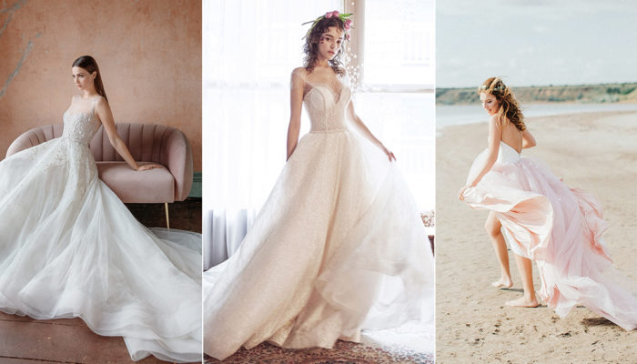 15 Airy Flowy Wedding Dresses For The Romantic Fairy Tale Bride