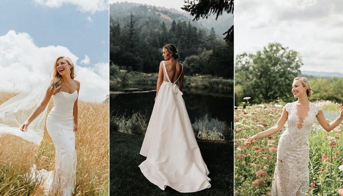 20 Low-Key Wedding Dresses for the Effortlessly Elegant Bride