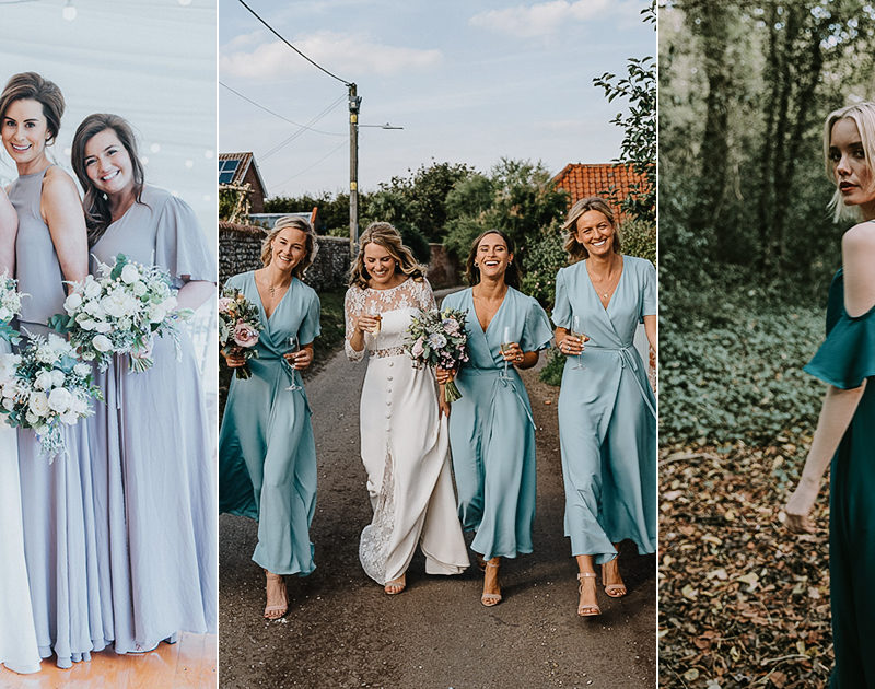 Effortless Mix & Match Boho Chic Dresses For Cool Stylish Bridesmaids!