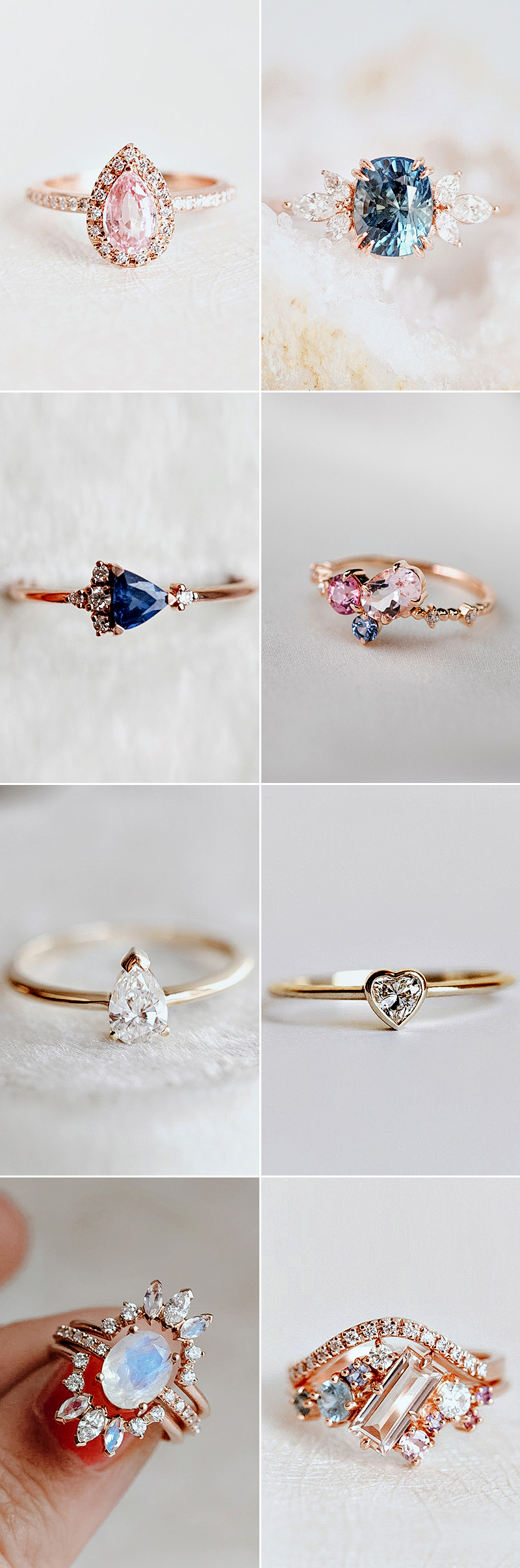 Praise wedding and family online shop - alternative engagement rings