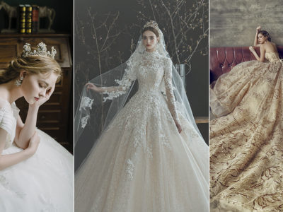 15 Classic Wedding Dresses with Stunning Embellishment and Detailing