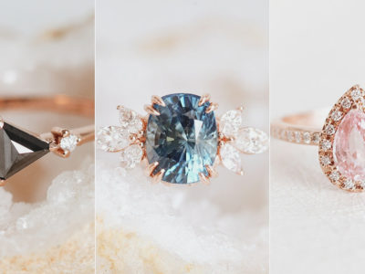 28 Handcrafted Alternative Non-Traditional Engagement Rings