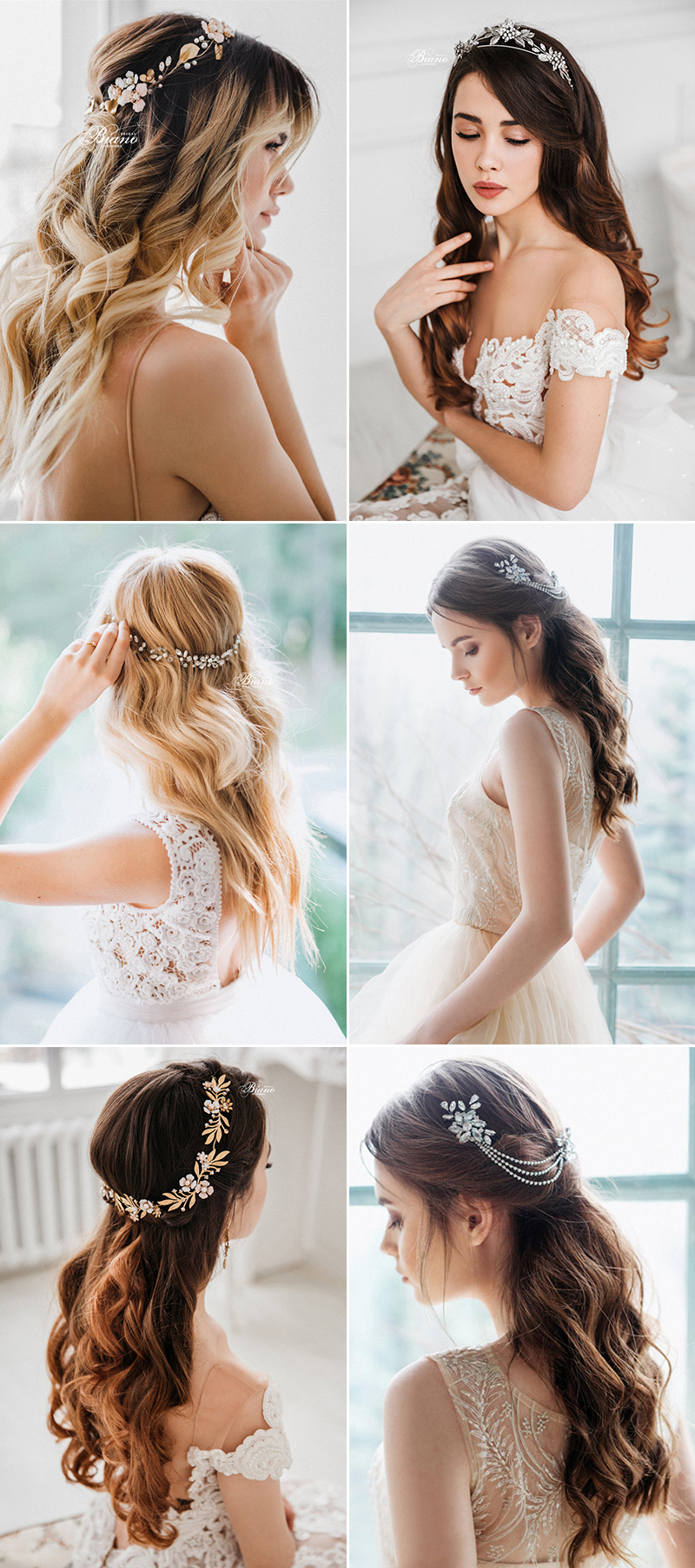 Bridal Hair Accessories For Every Wedding Hairstyle