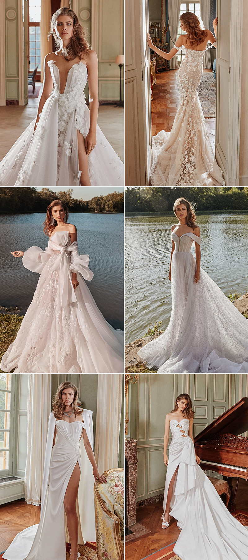 Bridal Fall 2020 wedding dress collections