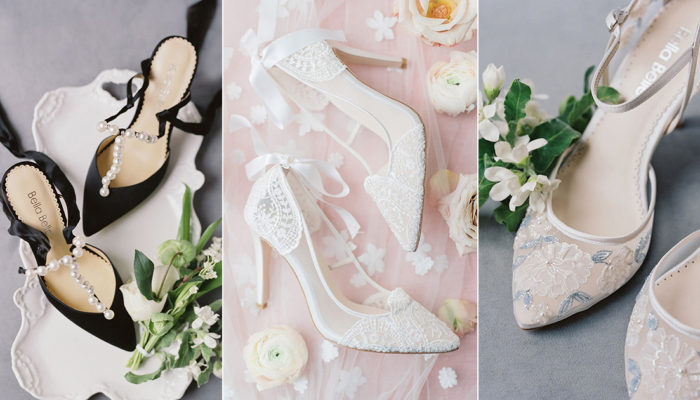 13 Officially The Most Gorgeous French-Inspired Classic Wedding Shoes