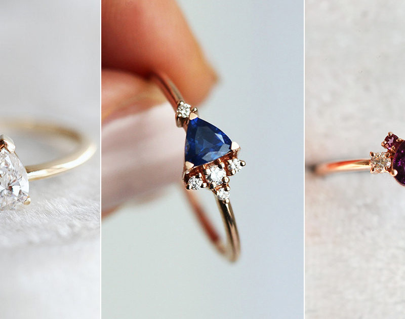 16 Minimalist Wedding Rings for the Modern Romantic Bride