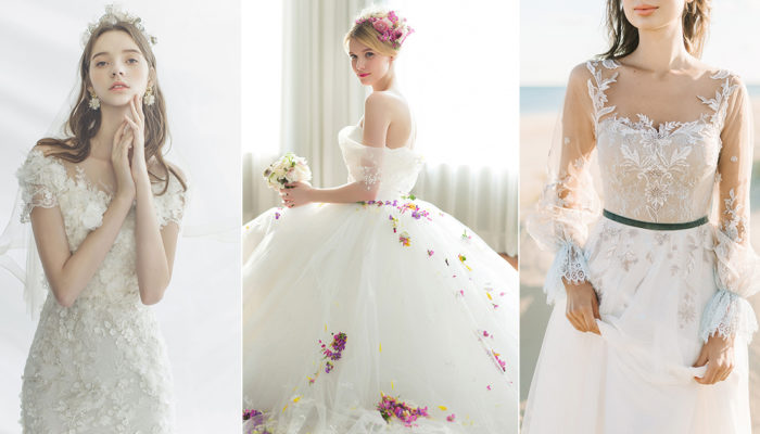 17 Breathtaking Floral Wedding Dresses Blooming with Love!