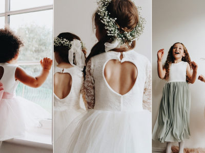 12 Princess-Worthy Flower Girl Dresses Handmade with Love for Style and Comfort