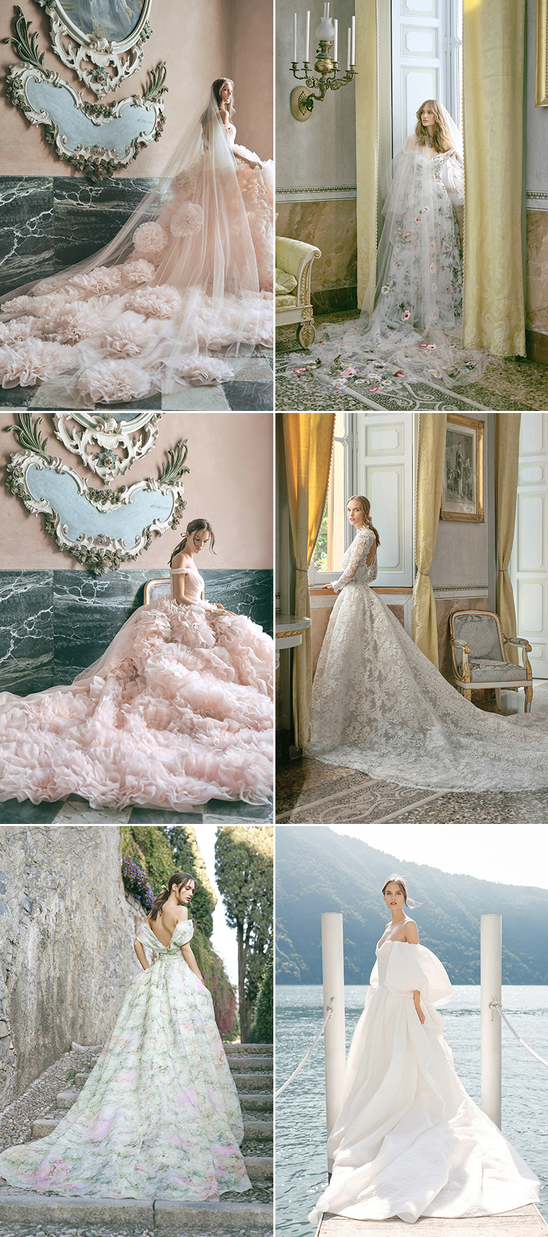 dreamy enchanting wedding dresses
