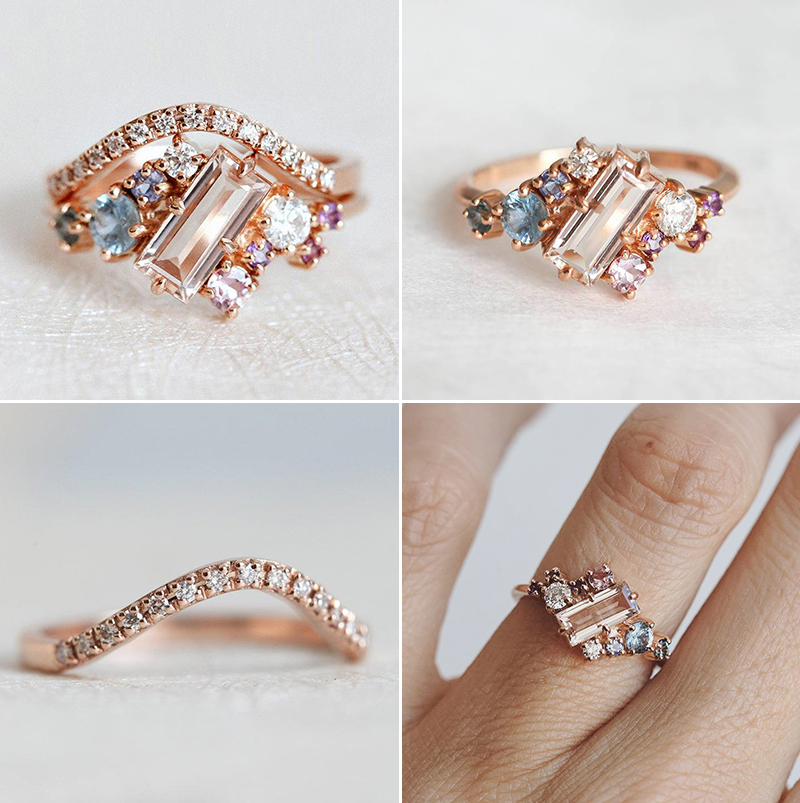 romantic proposal engagement rings