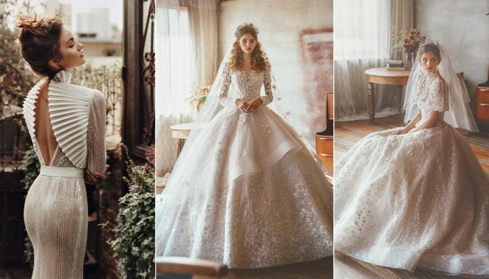 15 Statement-Making White Winter Wedding Dresses With Sleeves