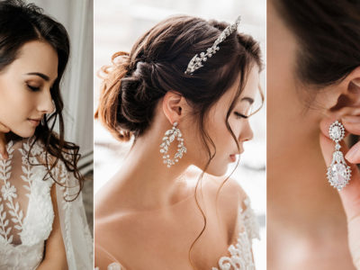 10 Pairs of Wedding Earrings For Brides Wanting to Make a Classic Statement