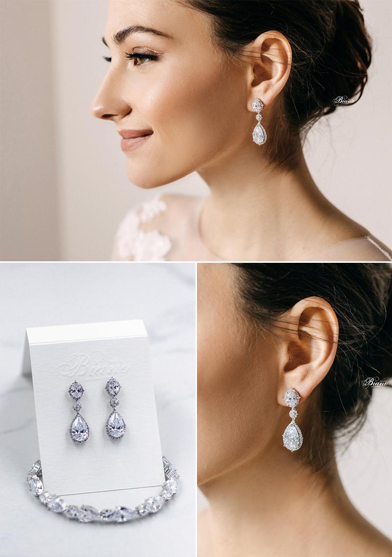 Eve Classic Pear Earrings