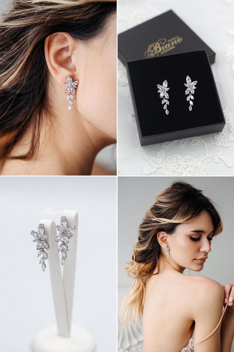 Leta Cubic Zirconia Earrings
