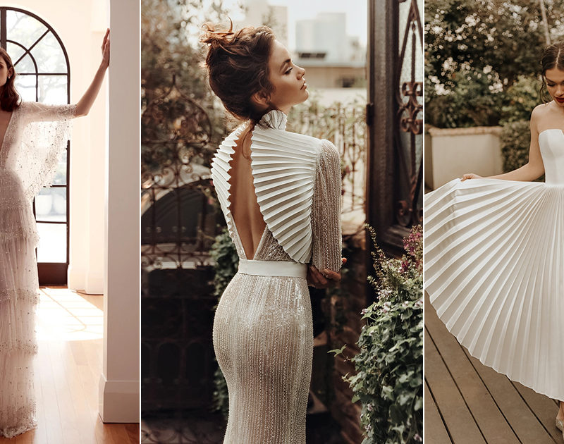 25 Stunning Dresses Modern Fashion-Forward Brides Will Be Wearing