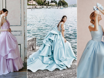 15 Colored Minimalist Wedding Dresses That Are Simple Yet Memorable
