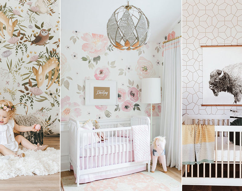 10 Modern Nursery Wallpaper Ideas That Create Stylish Baby Rooms Even Adults Would Love