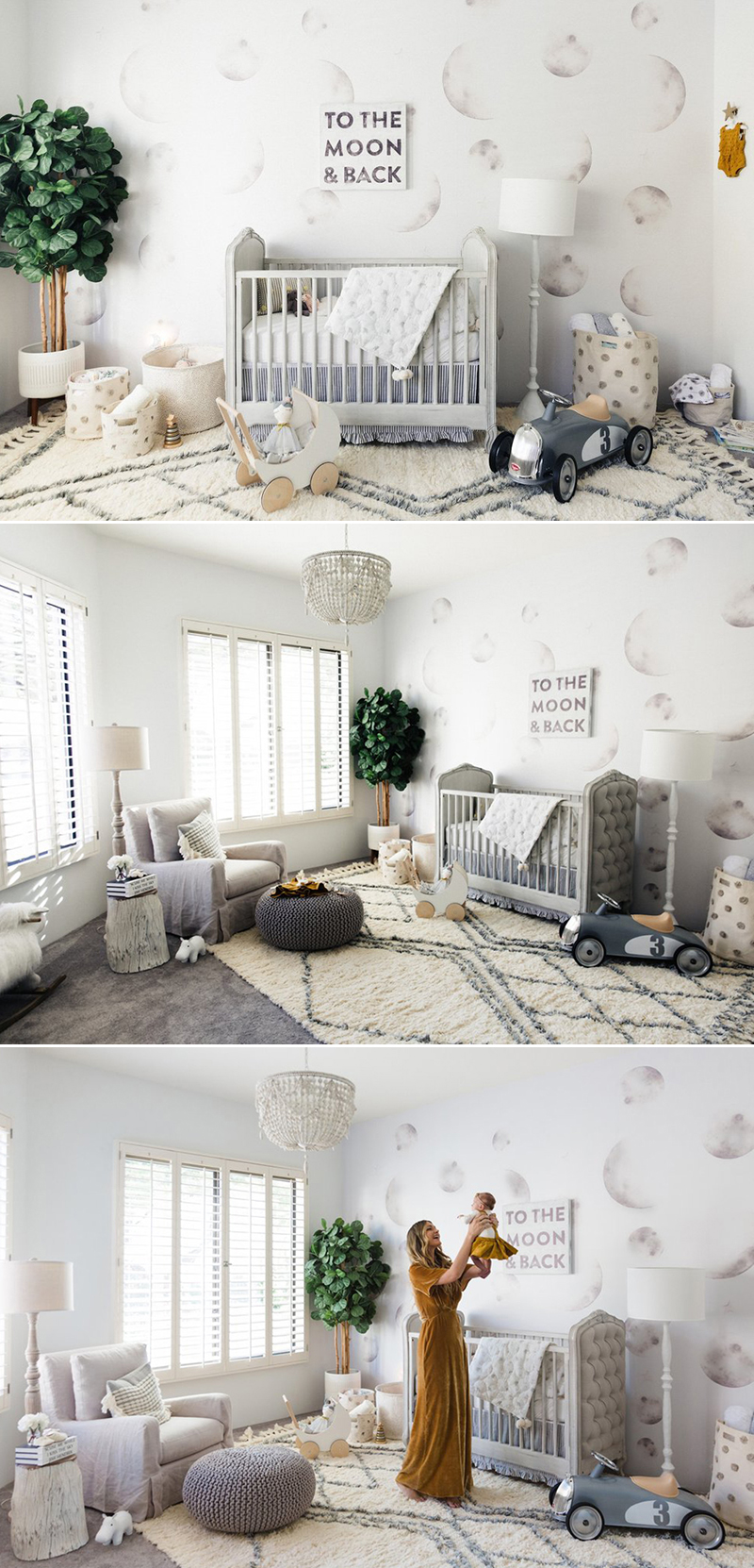 baby nursery room mural wallpaper